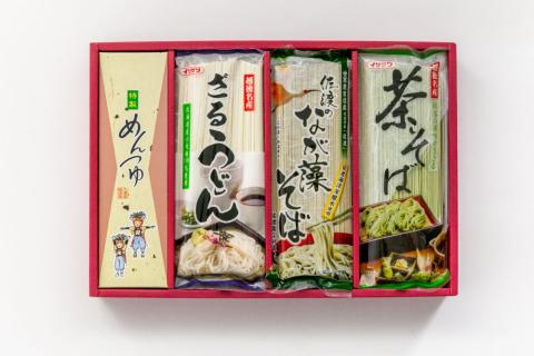 乾麺詰め合わせ夏ギフトセット 「朝顔」(IS-20S)