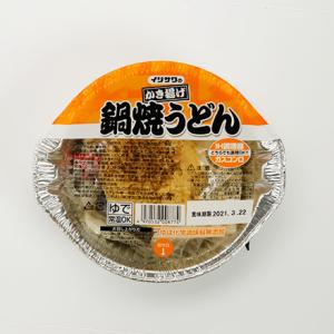 かき揚げ鍋焼きうどんカップ(ロングライフ麺)
